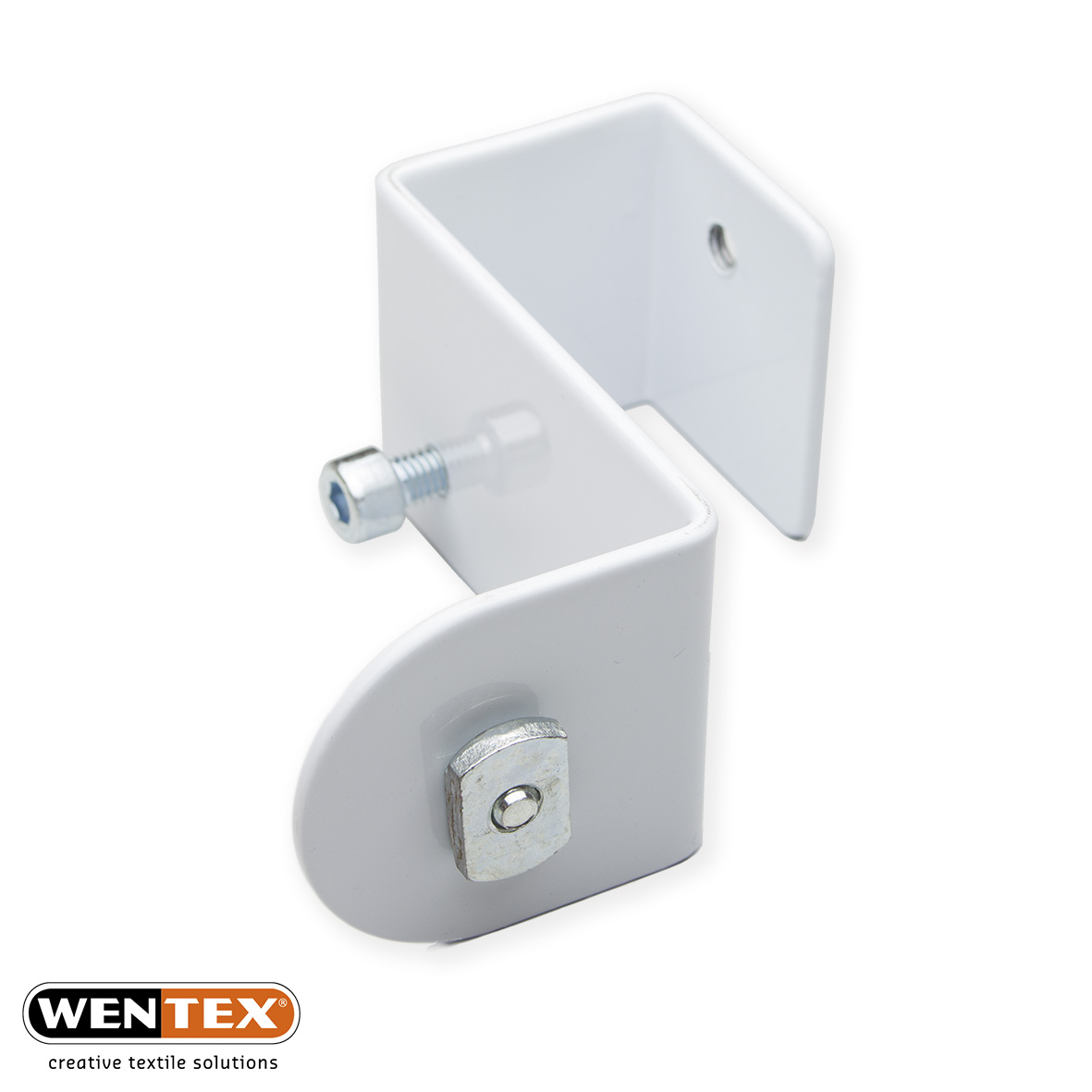 Flex adaptor white + sliding nut