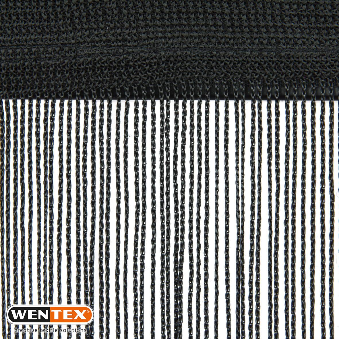 Spaghetti Curtain black