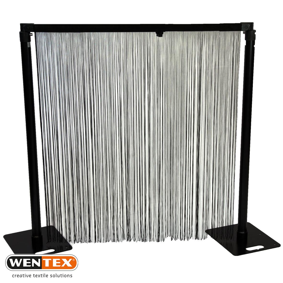 P&D Spaghetti Curtain black