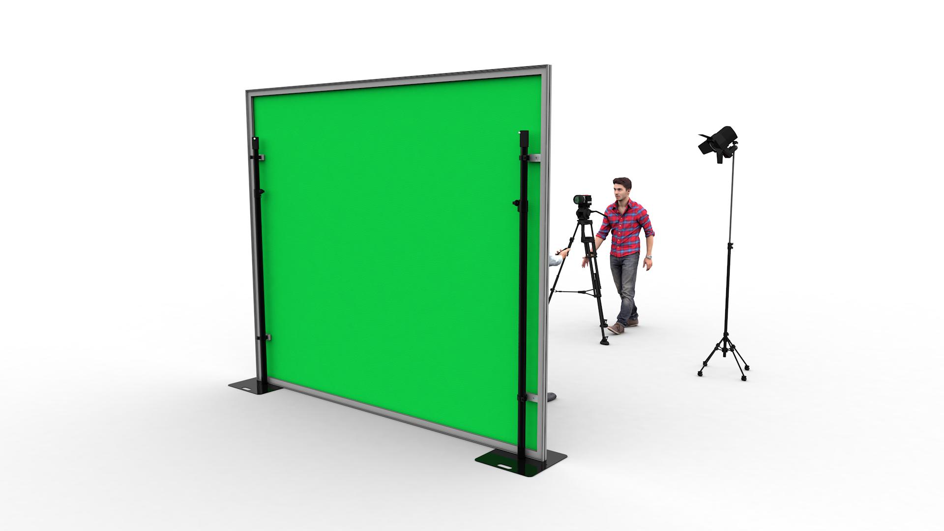 Chromakey green SET Frame