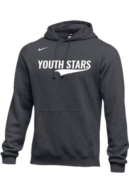 Nike YS Retro Logo Fleece Hoodies