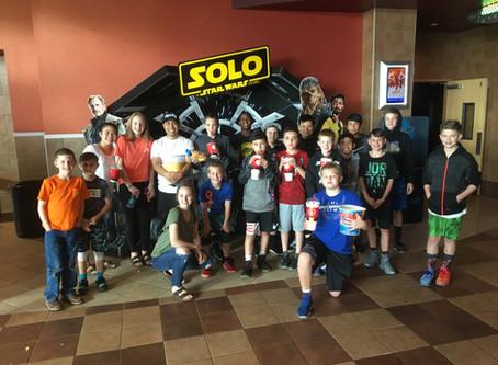 Movie Night with 30+ Players!