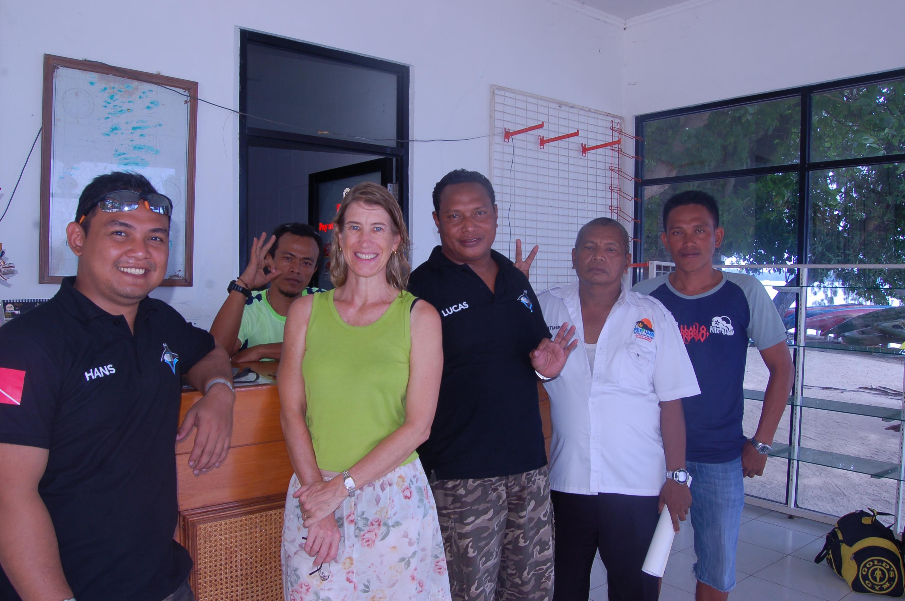 Our 1st Dive Shop Cooperation