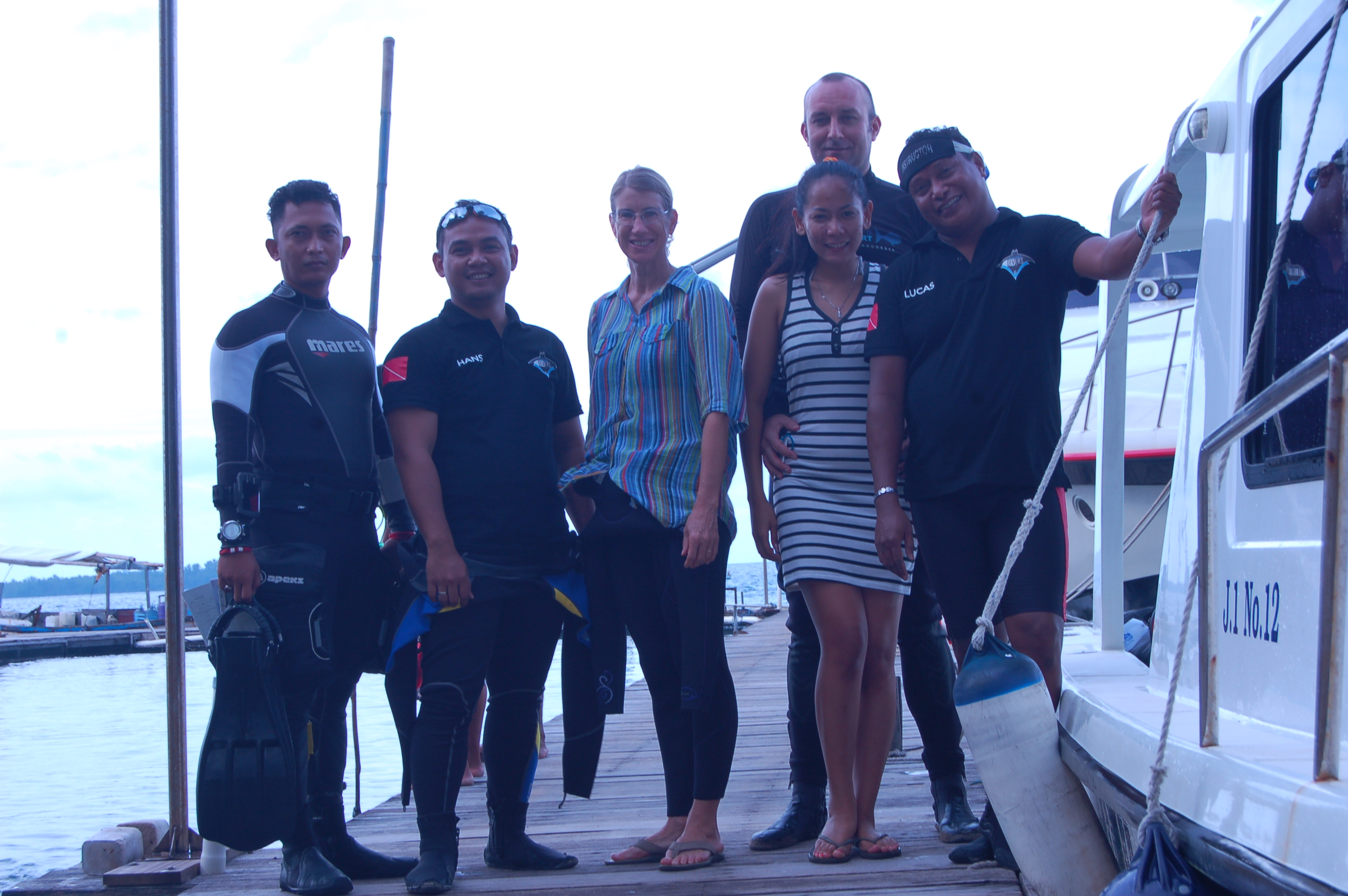 Our 1st Boat Dive