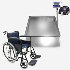 斜坡式輪椅秤