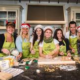 In der Gxund-Weihnachtsbäckerei