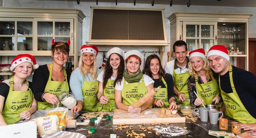 In der Gxund Weihnachtsbäckerei
