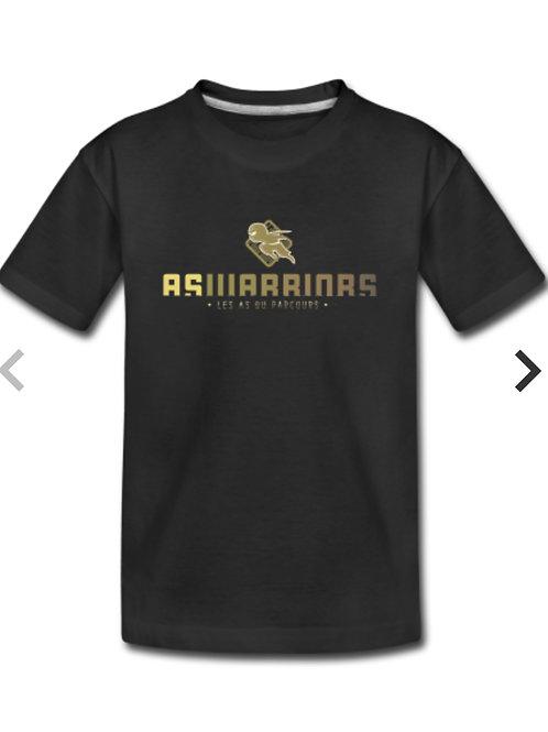 T-shirt Kids AsWarriors (noir)