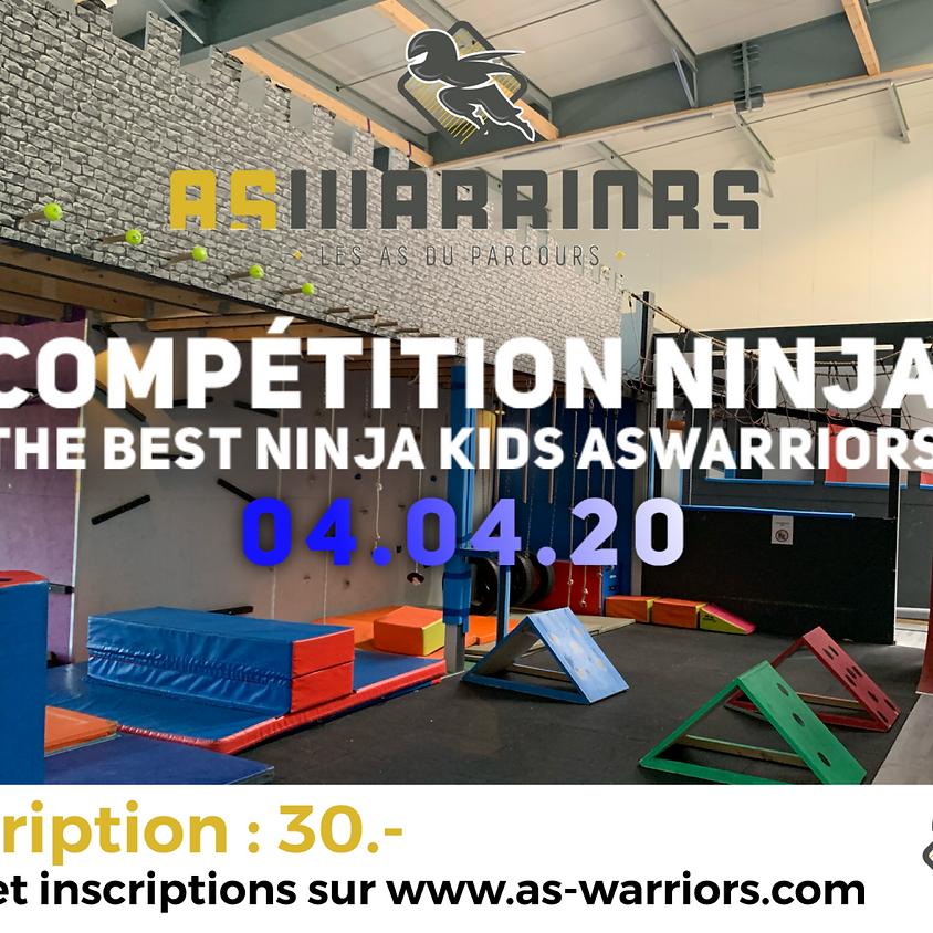 AsWarriors Compétition Ninja Kids