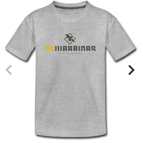 T-shirt Kids AsWarriors (gris)