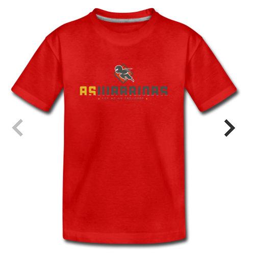 T-shirt Kids AsWarriors (rouge)