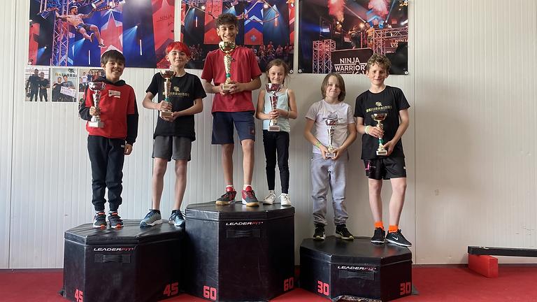 Compétition The Best Ninja Kids AsWarriors (6 ans - 10 ans)