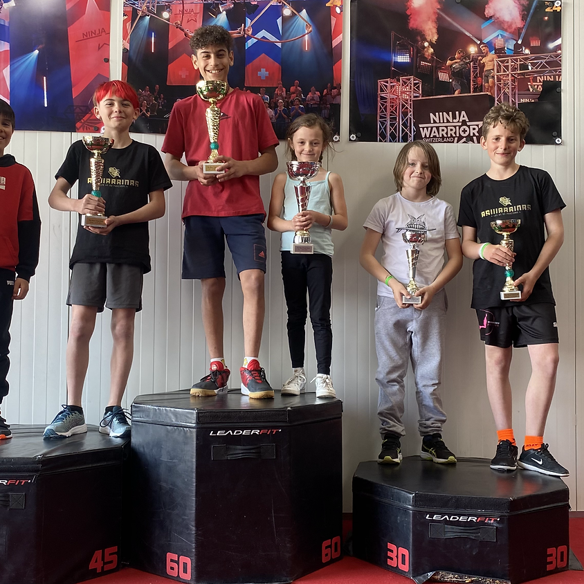 Compétition The Best Ninja Kids AsWarriors (11 ans - 17 ans)