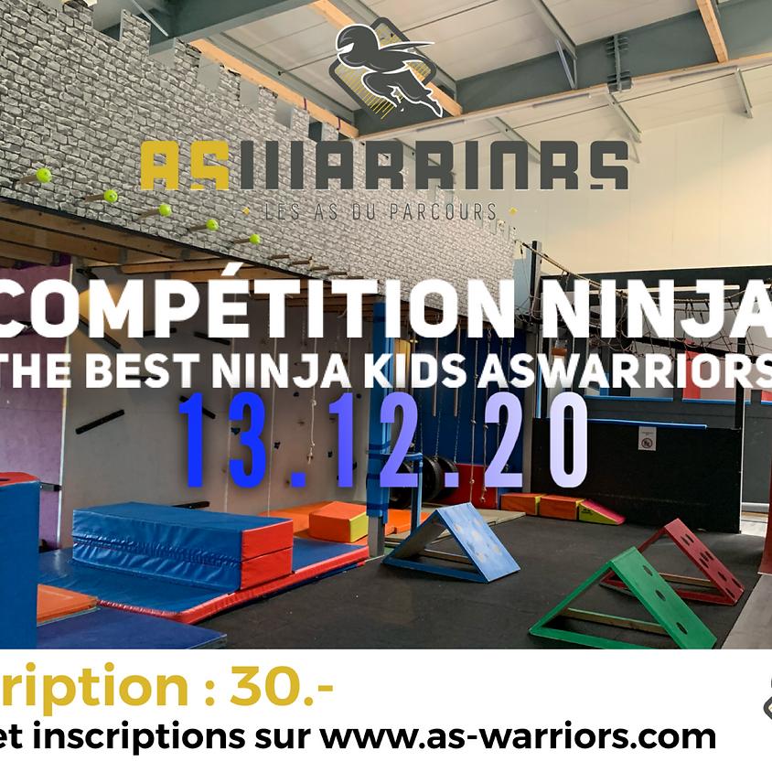 Compétition The Best Ninja Kids AsWarriors