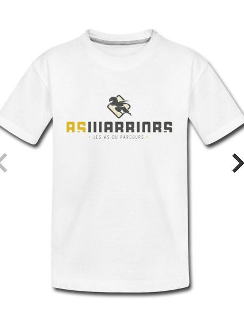 T-shirt Kids AsWarriors (blanc)