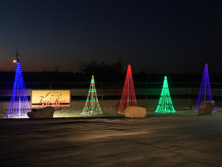The Christmas holiday cheer is upon us here at Edith Ranch!