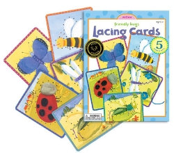 Friendly Bug Lacing Cards