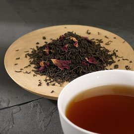 China Rose Petal Leaf Tea