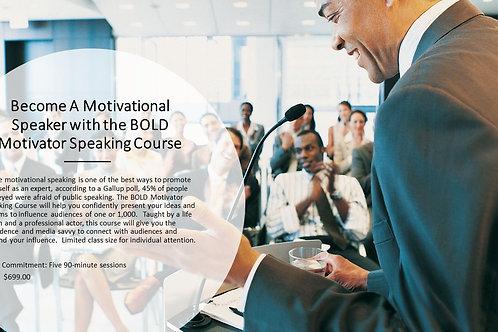 Motivational Speaking