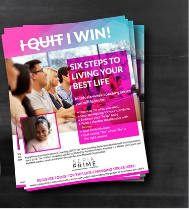 Join this online group session and win in life.  Register today.
