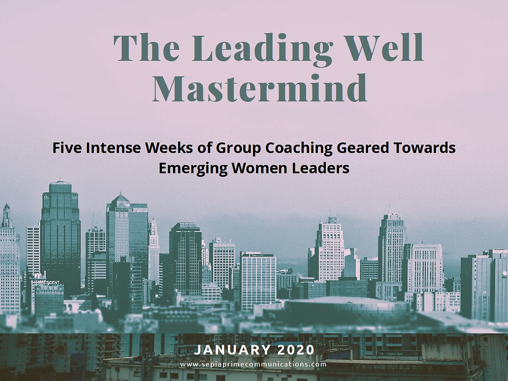 Take your leadership skills to the next level.  50% discount until December 6, 2020.