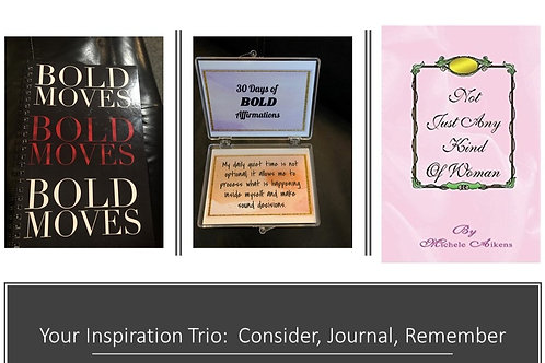 """Your """"Stay Inspired & Focused"""" Trio"""