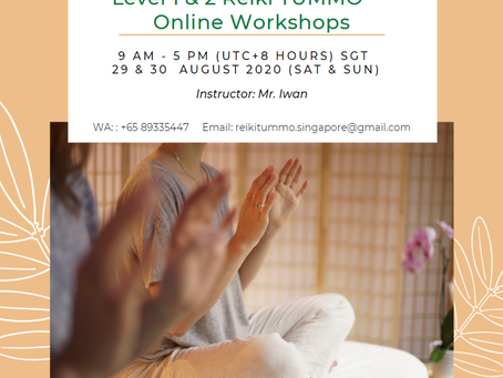 Natural Way of Living Singapore online Workshops in August 2020.