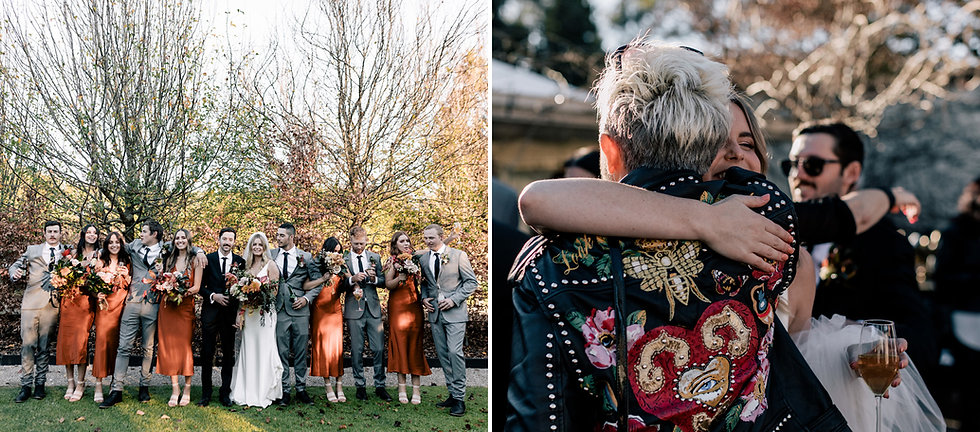 Ataahua Bridal party