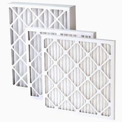 Pleatable HVAC material