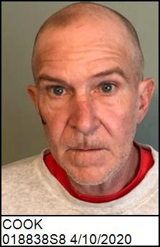 KENNETH SCOTT COOK, Sex Offender, WANTED for failure to notify of address change - EDGECOMBE