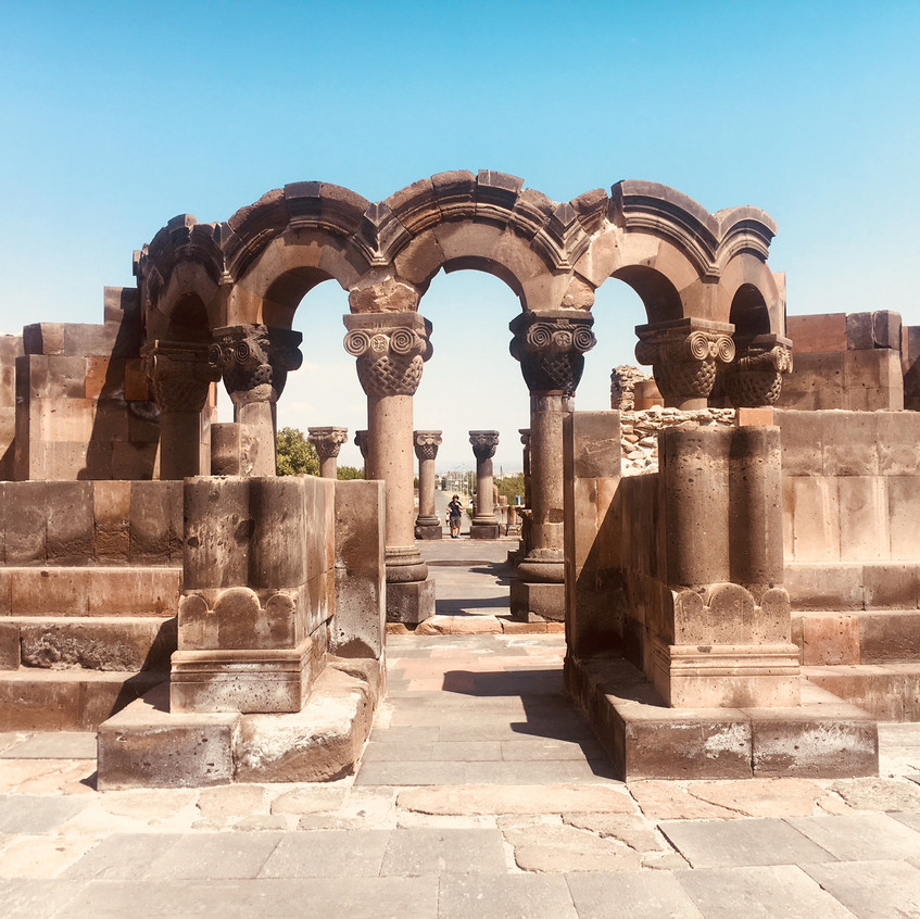 Zvartnos Temple