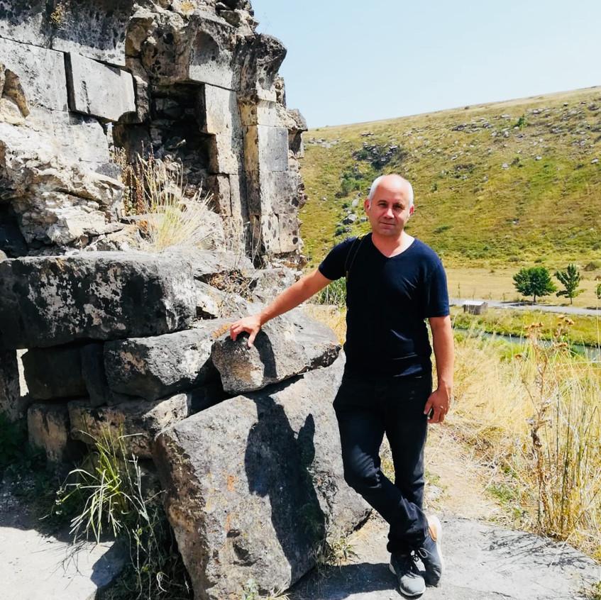 Dr. Wanja Wedekind in Armenia