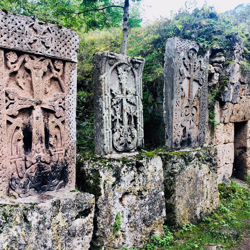Crossstones in Armenia