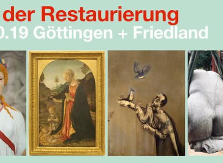 Tag der Restaurierung in Göttingen und Friedland