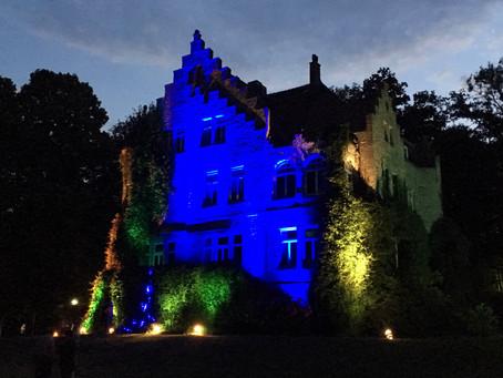 Ein Schloss in bunten Farben