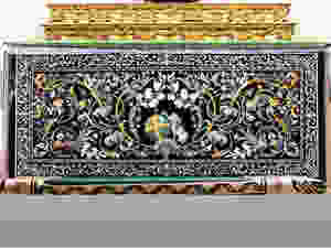 Scagliola Paliotto in der Kirche Santo Domingo in Perugia (Italien)
