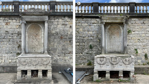 Two Roman sarcophagi in Potsdam