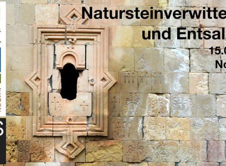 Natursteinverwitterung und Entsalzung