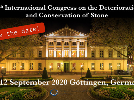Göttingen: city of sciences - the place to be in stone and heritage conservation 2020