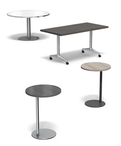 Simplicity Collection Café, Laptop and Training Tables