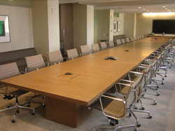 Summit tilt-top conference tables