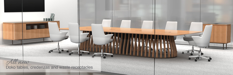 Custom corporate furniture