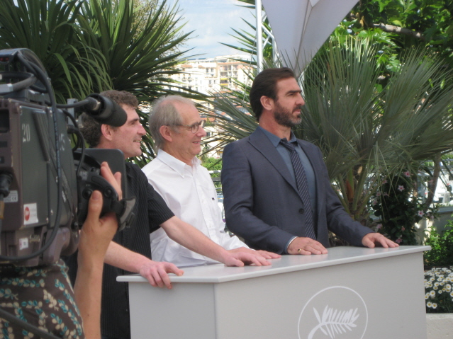 The Photocall with Ken Loach, Eric Cantona and Steve Evets.JPG