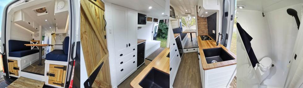 Custom Build Campervan Conversions Brisb