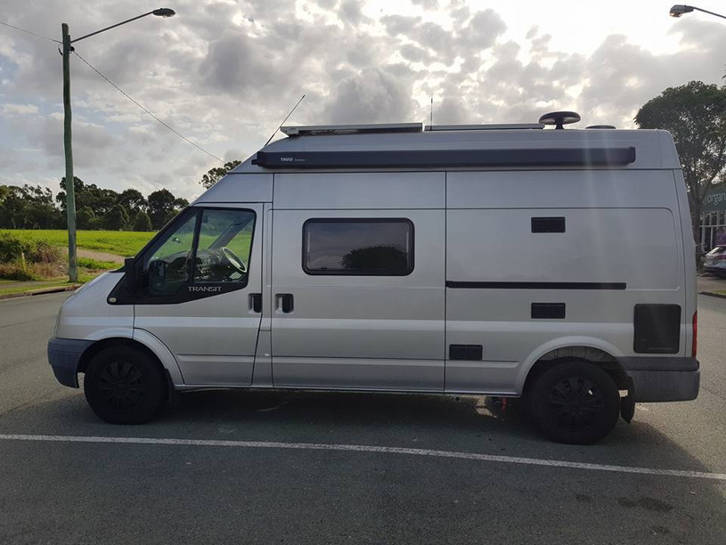 Ford Transit campervan conversions Brisbane