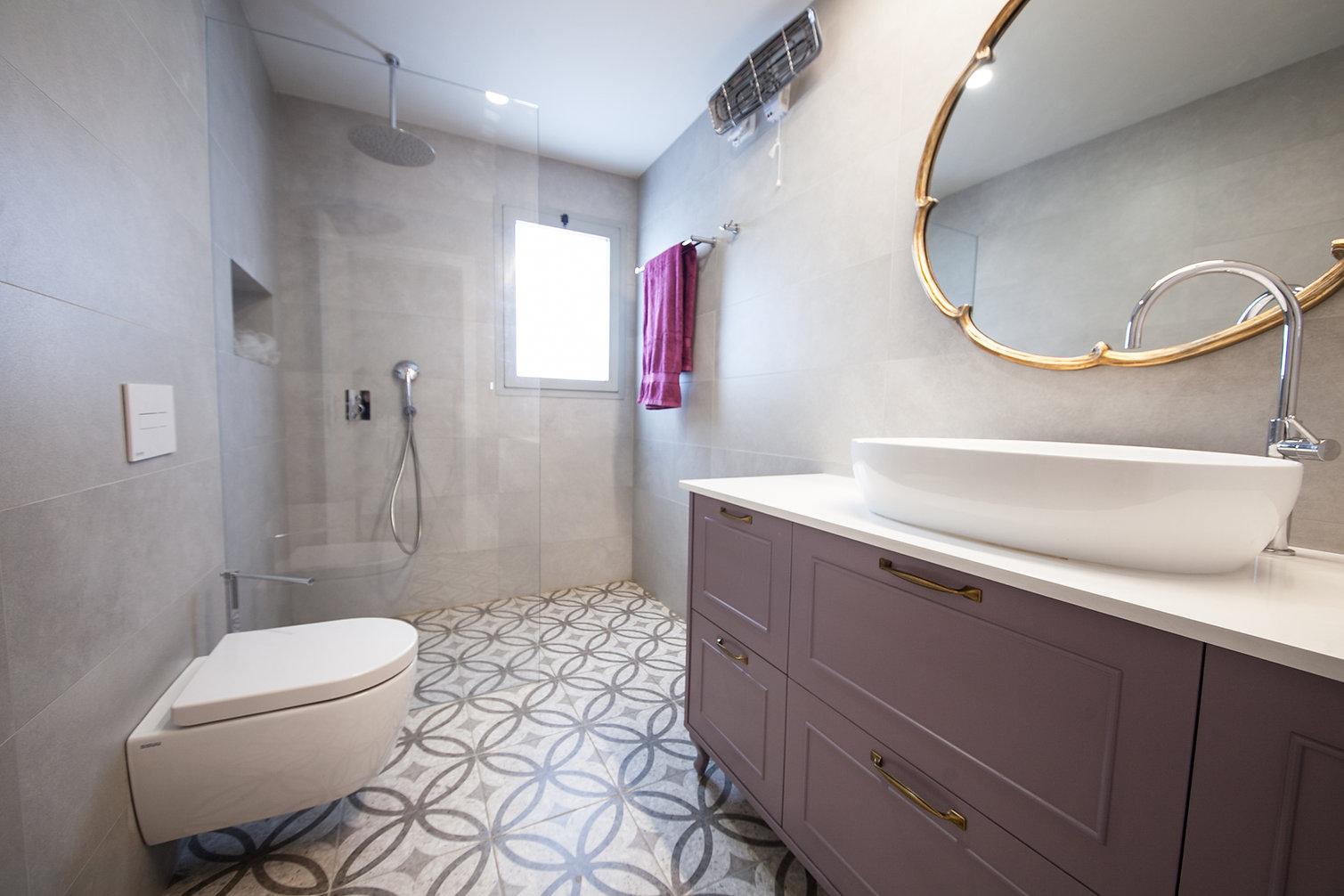 עיצוב אמבטיה רומנטית