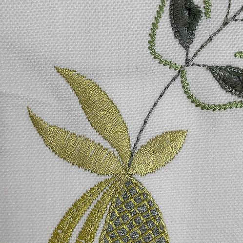 Fiorella Embroidery Avocado