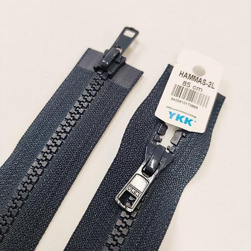 Hammasavoketju 85 cm, 2 lukkoa (tummansininen)