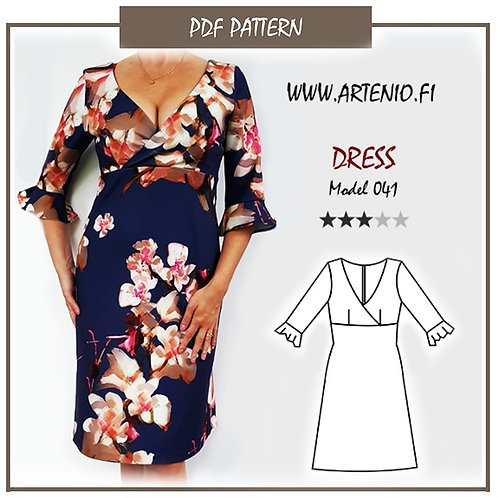 Dress, model 041, size 42