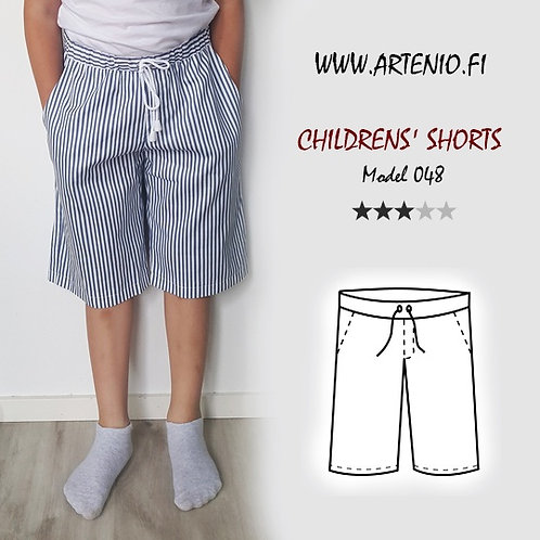 Children´s shorts, model 048, size 140